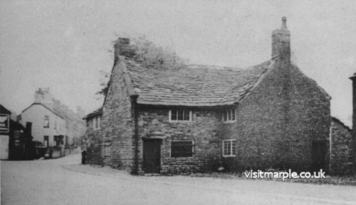 Peace Farm on Stockport Road, probable birthplace of John Bradshawe