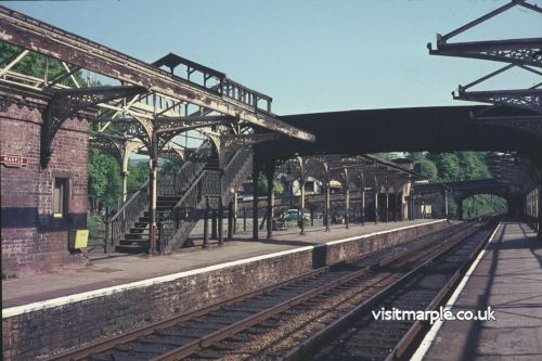 Marple Station in 1969, just prior to dismantling.