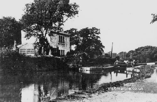 Lock Keeper's Cottage at Lock 6, demolished in 1960's