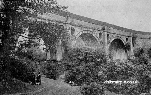 The Aqueduct as it looked a hundred years ago.