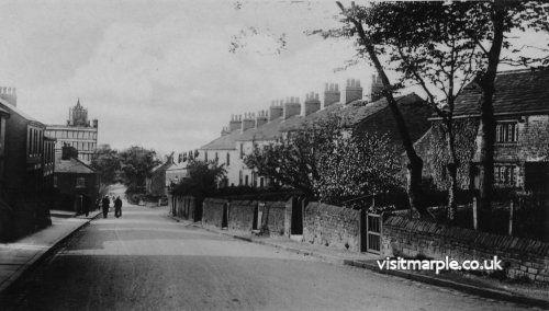 Upper Hibbert Lane, Hawk Green