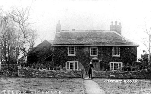 The Od Vicarage, Mellor