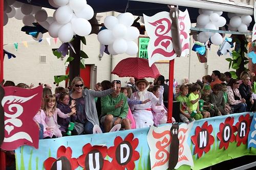 A busy Marple Carnival
