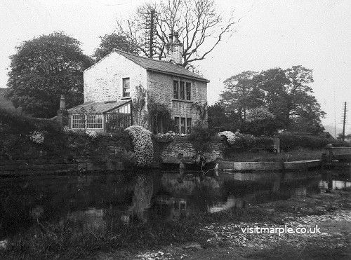 A view of Glen Cottage, the former Lock keeper's cottage next to Lock 6.