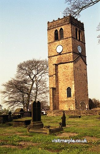 All Saints' Old Church Tower