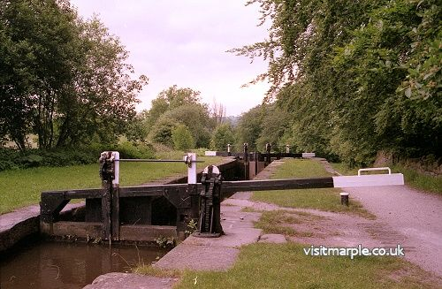 Lock number 7, from the 1993 Marple Civic Society exhibition of Listed Buildings.