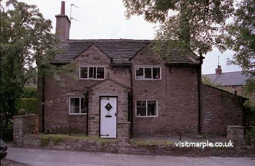 House on the corner of Shepley Lane (Marple Civic Society 1993)