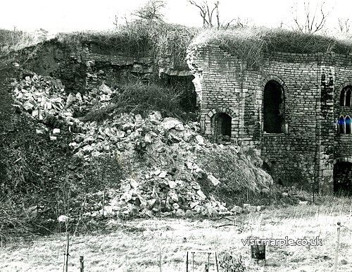 The Lime Kilns collapse in the 1960s/70s