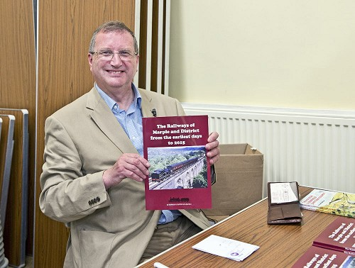 Warwick Burton at the launch of his new version of this book on 2 July 2015.