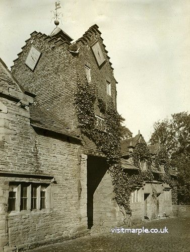 Marple Hall Stables in 1919.