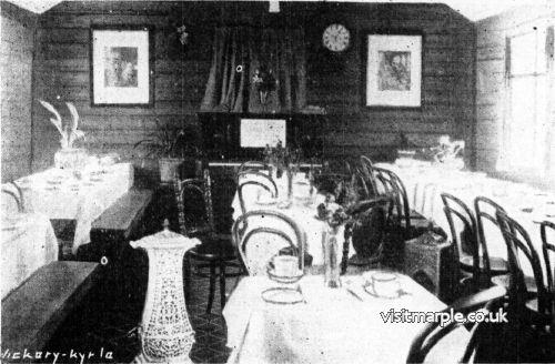 Dale Tea Room 1927