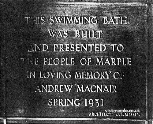 Plaque for Boths Opening