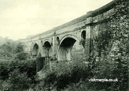 The Aqueduct as it looked around 100 years ago.