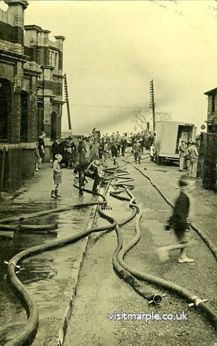 An ARP Exercise near the Goyt Mill in 1938-39.