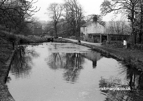 Bottom Lock House in November 1967.
