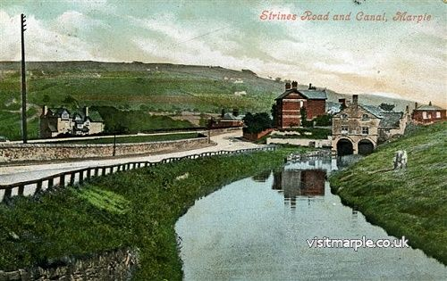 Strines Road Canal Arm