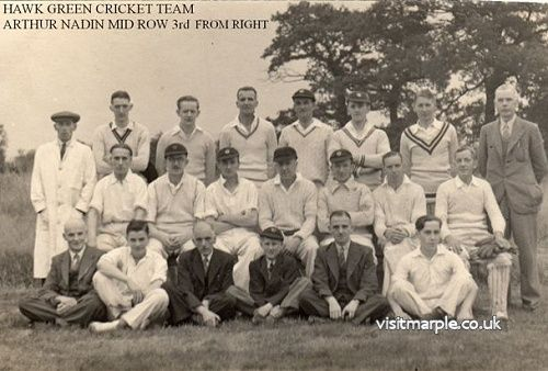 Hawk Green Cricket Team between 1930 - 1940