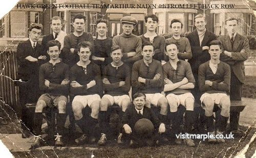A 1930s Hawk Green Football team