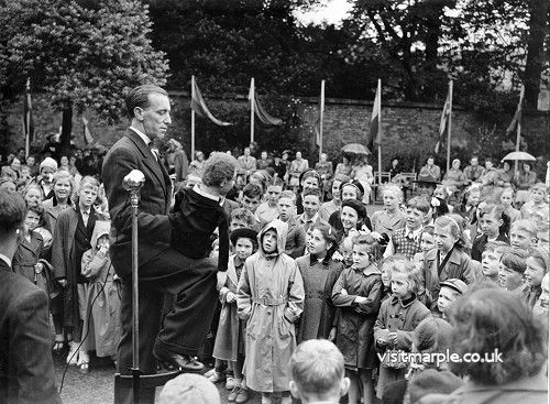 Garden Fete at Brabyns Hall 1950