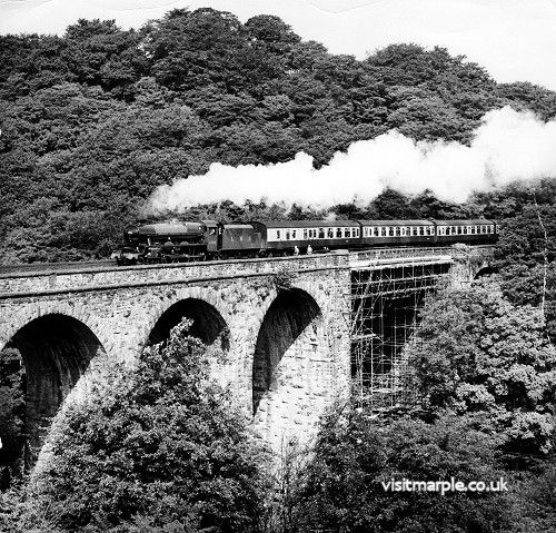 Marple Goyt Viaduct 1973