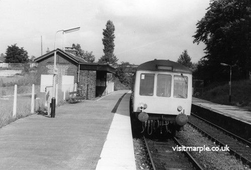 Rose Hill station as it was on 12th September 1978 prior to singling in 1980.