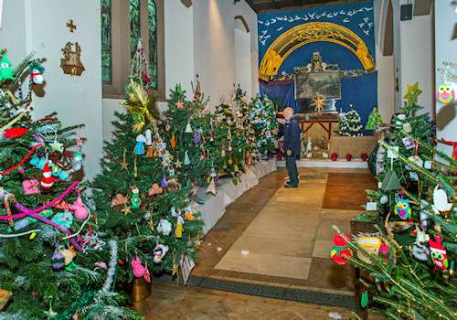 St Martin's Christmas Tree Festival