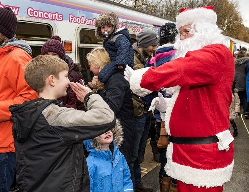 Santa at Rose Hill Station on Saturday 25 November