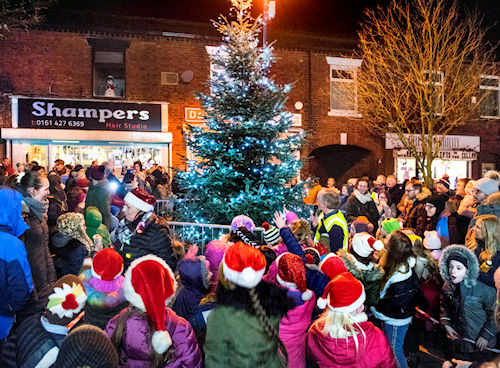 Marple Christmas Lights Switch-on