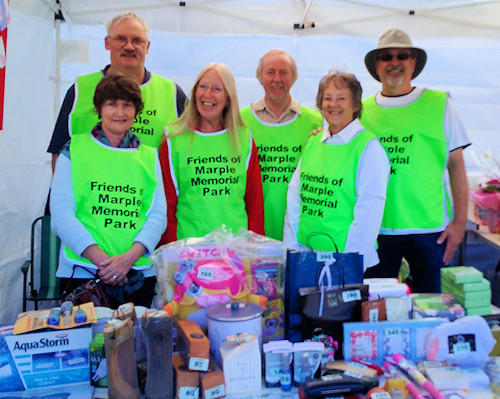 Friends of the Park at Marple Food and Drink Festival 2016