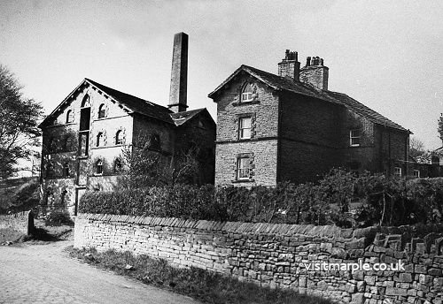 The Mineral Mill and Bleak House as they must have looked together