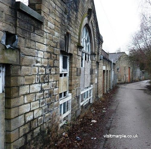 Former Compstall Print Works site