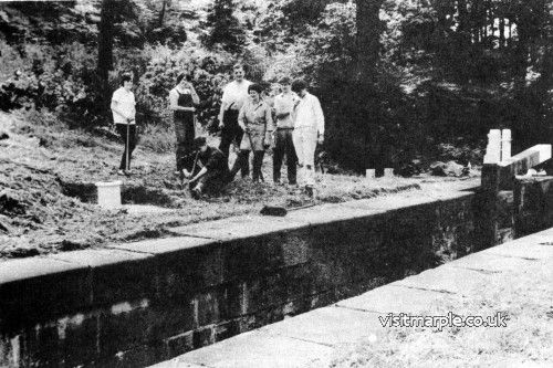 Lock 1 after clean-up by volunteers